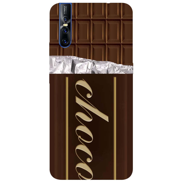 Chocolate Vivo V15 Pro Back Cover-Hamee India