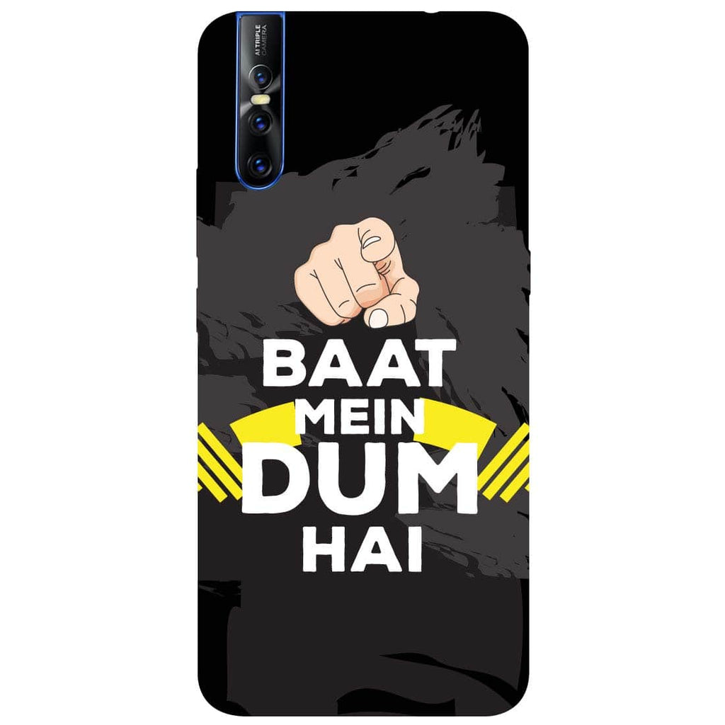 Dum Vivo V15 Pro Back Cover-Hamee India