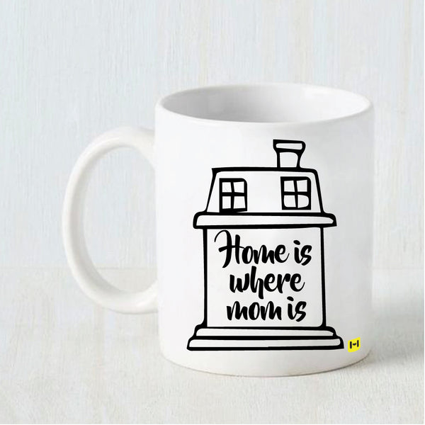Home Is - White Coffee Mug-Hamee India