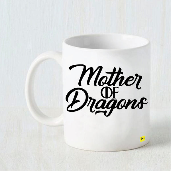 Hamee- Mother's day special White Coffee Mug-  Mother of Dragons