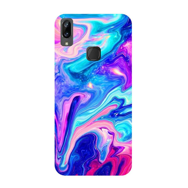 Abstract paint Vivo V3 Max Back Cover-Hamee India