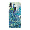 Blue Peacock Vivo Y83 Back Cover-Hamee India