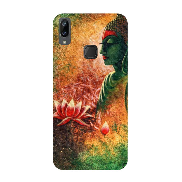 Buddha side pose Vivo V3 Max Back Cover-Hamee India