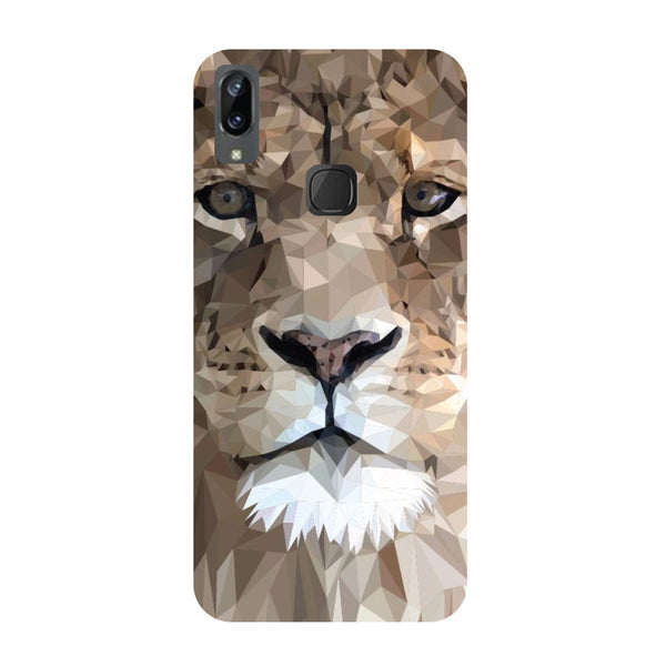 Lion Abstract Vivo Y83 Pro Back Cover-Hamee India
