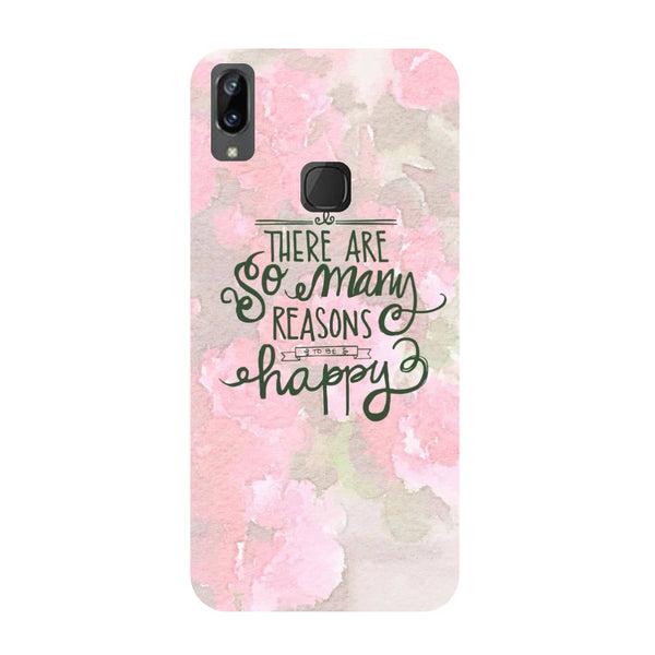 Be Happy Vivo Y83 Pro Back Cover-Hamee India