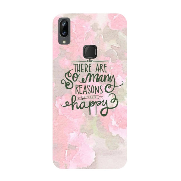 Be Happy Vivo V3 Max Back Cover-Hamee India