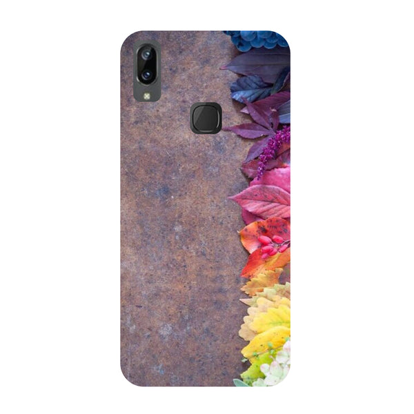 Side Flowers Vivo Y83 Pro Back Cover-Hamee India