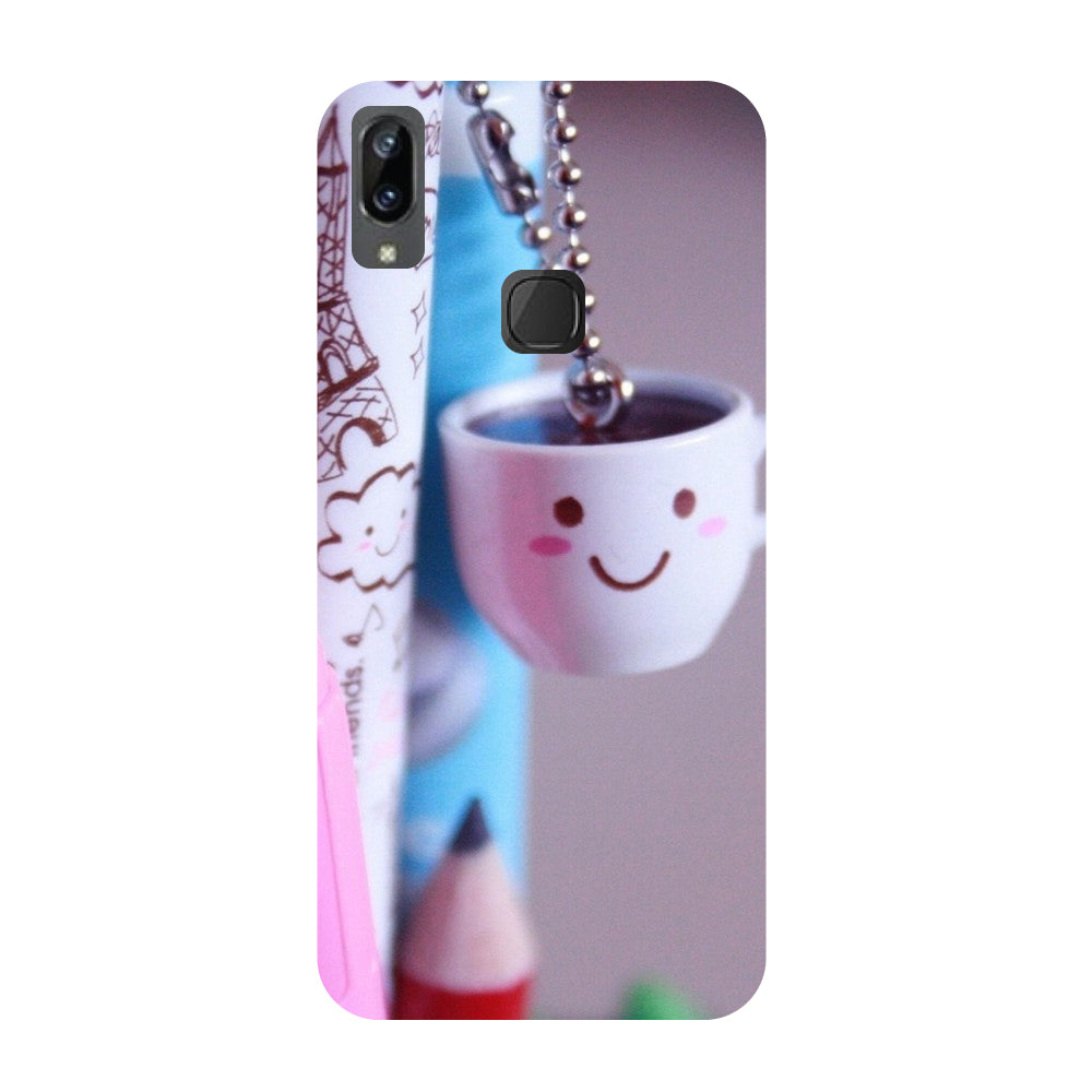 Cup- Printed Hard Back Case Cover for Vivo X21i-Hamee India