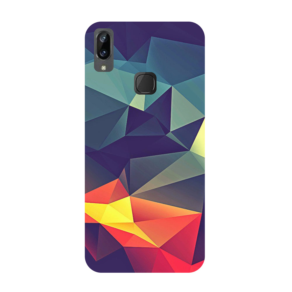 Abstract- Printed Hard Back Case Cover for Vivo X21i-Hamee India