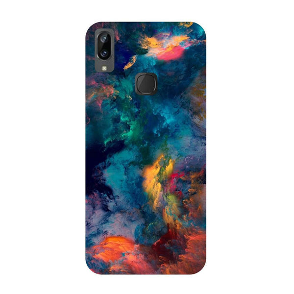 Abstract fumes Vivo V3 Max Back Cover-Hamee India