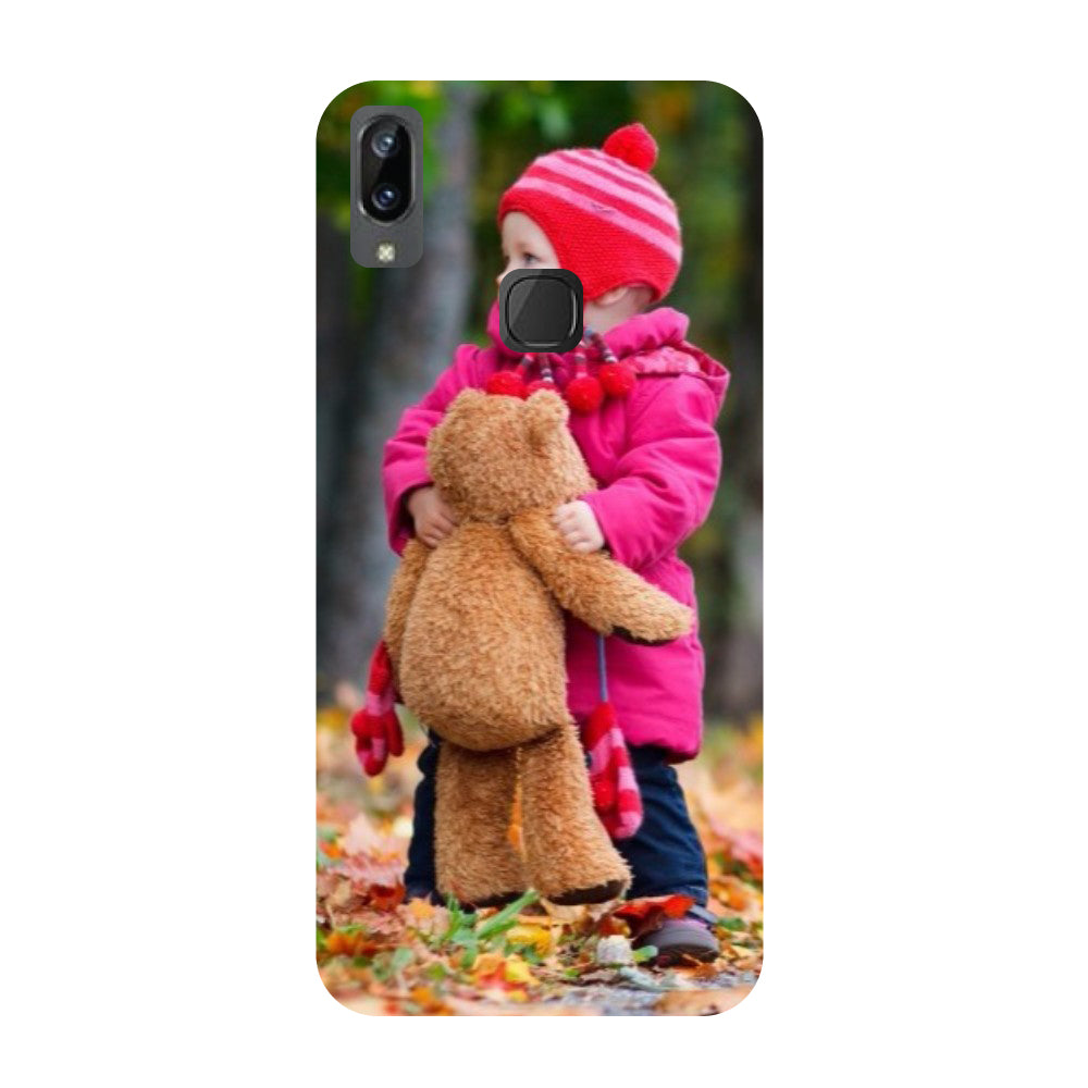 Baby- Printed Hard Back Case Cover for Vivo X21i-Hamee India