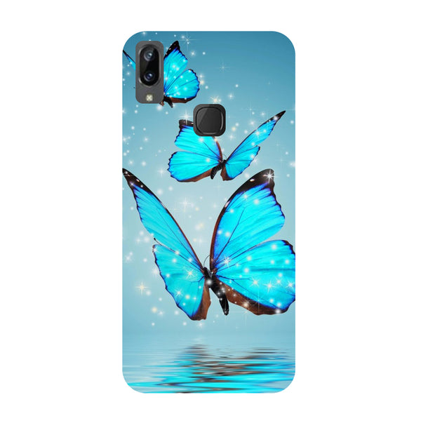 Blue Butterflies Vivo Y83 Pro Back Cover-Hamee India