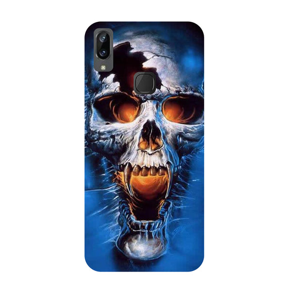Skull Blue Vivo Y83 Pro Back Cover-Hamee India