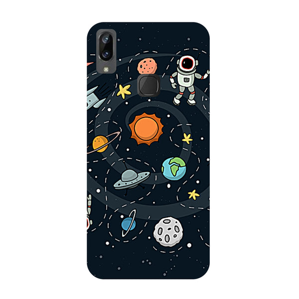 Planets Vivo Y83 Pro Back Cover-Hamee India