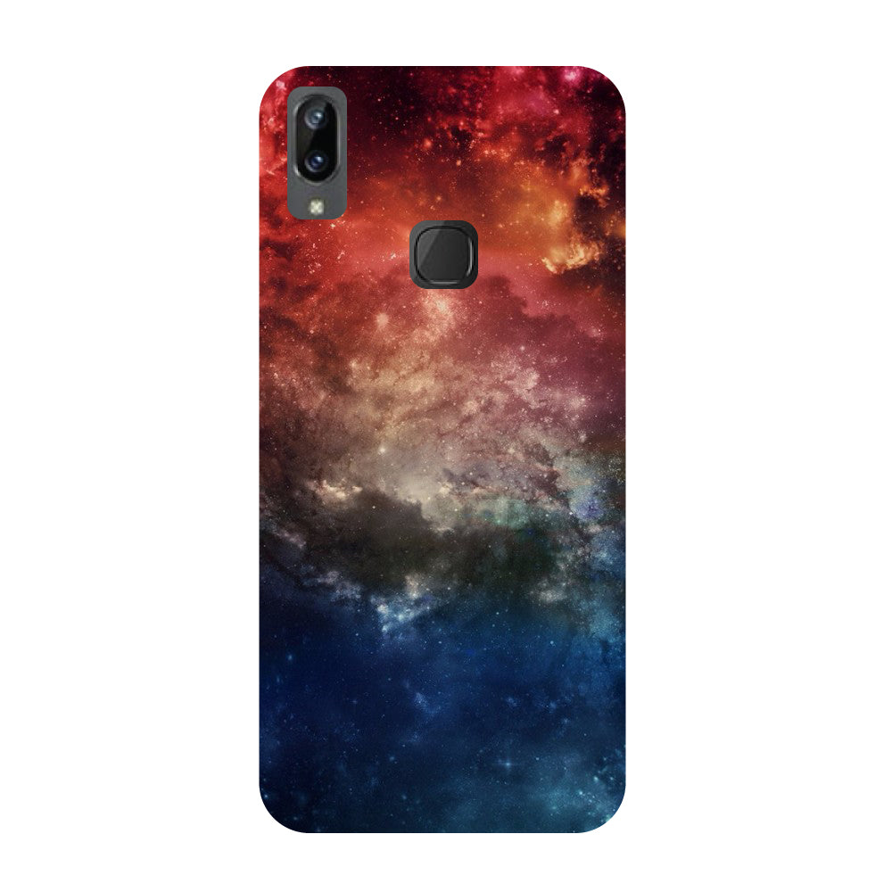 Space- Printed Hard Back Case Cover for Vivo X21i-Hamee India