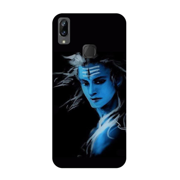 Blue black Shiva Vivo V3 Max Back Cover-Hamee India