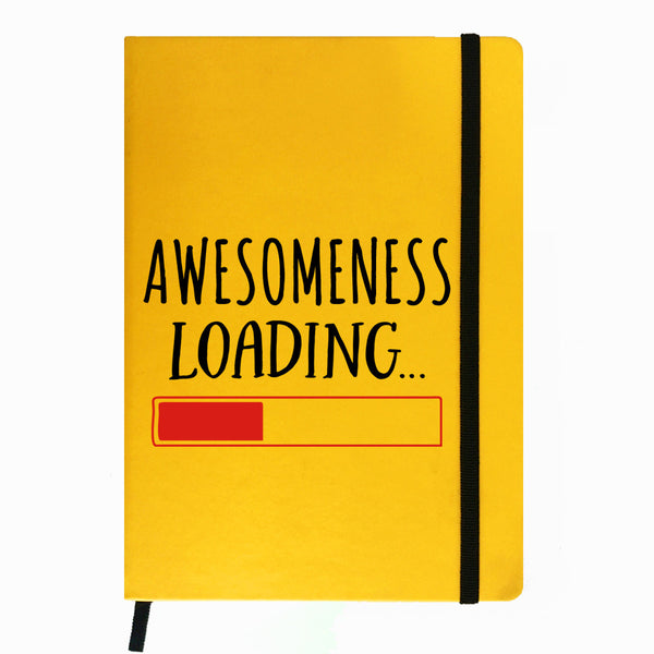 Awesomeness Loading - Yellow Notebook-Hamee India