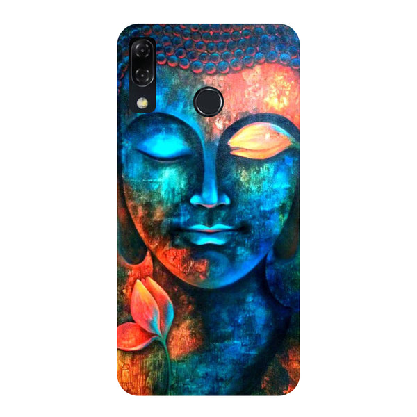 Serene Buddha-Printed Hard Back Case Cover For Zenfone 5Z-Hamee India