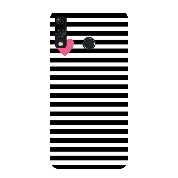 Heart Stripes Honor Play Back Cover-Hamee India