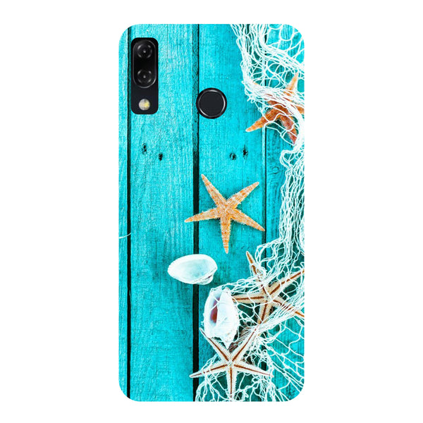 Sea Side-Printed Hard Back Case Cover For Zenfone 5Z-Hamee India