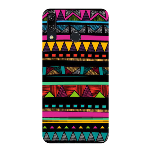 Tribal-Printed Hard Back Case Cover For Zenfone 5Z-Hamee India