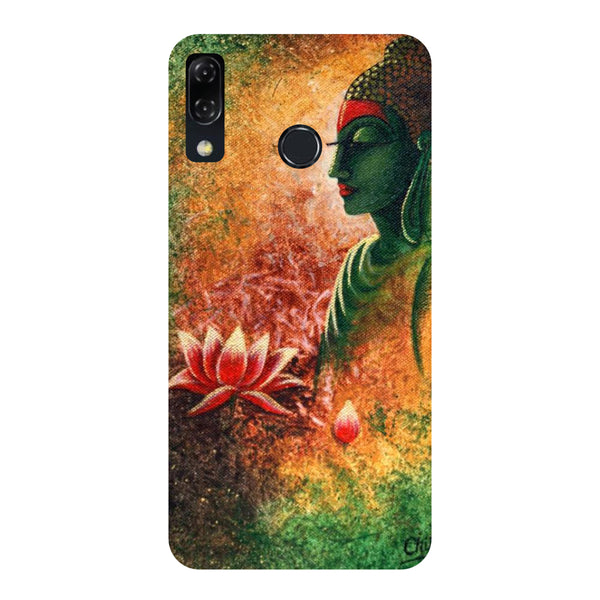 Side Buddha-Printed Hard Back Case Cover For Zenfone 5Z-Hamee India