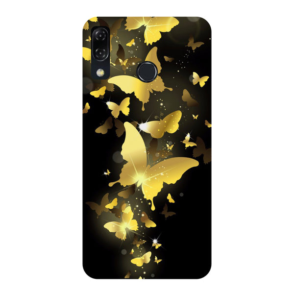 Golden Butterflies-Printed Hard Back Case Cover For Zenfone 5Z-Hamee India