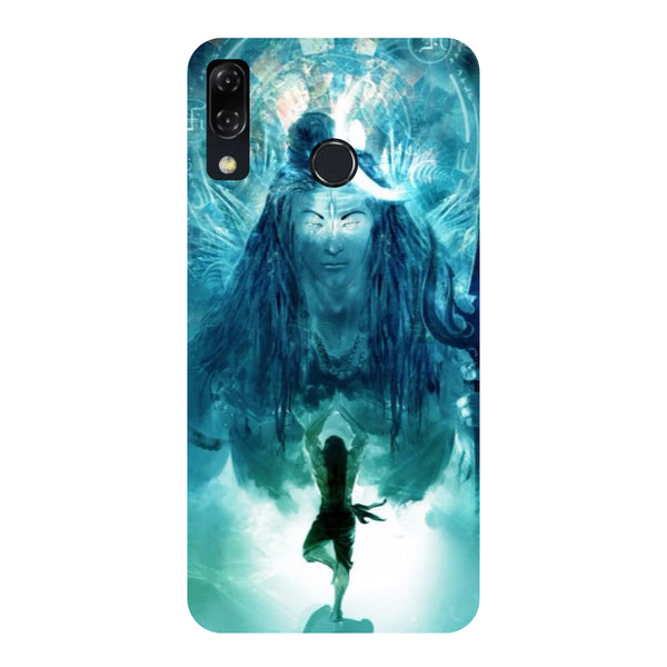 Standing Shiva-Printed Hard Back Case Cover For Zenfone 5Z-Hamee India