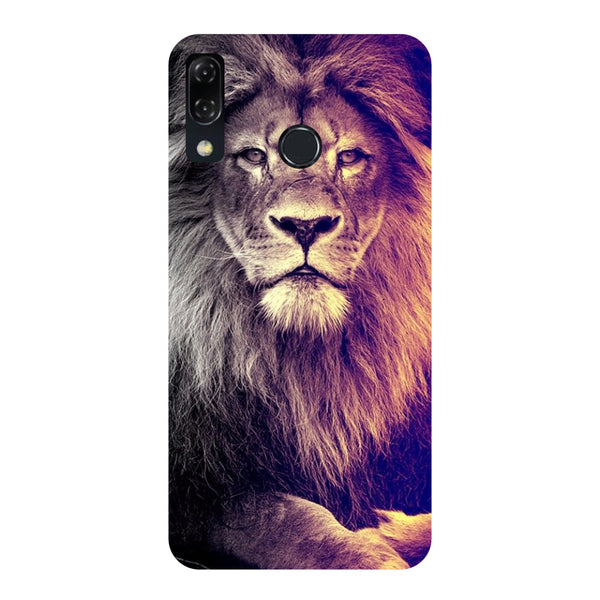 Lion-Printed Hard Back Case Cover For Zenfone 5Z-Hamee India