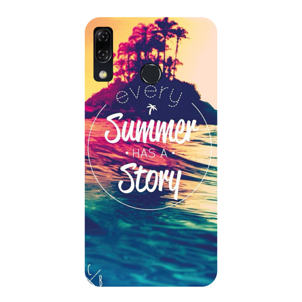 Every Summer-Printed Hard Back Case Cover For Zenfone 5Z-Hamee India