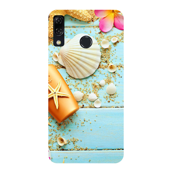 Shells-Printed Hard Back Case Cover For Zenfone 5Z-Hamee India