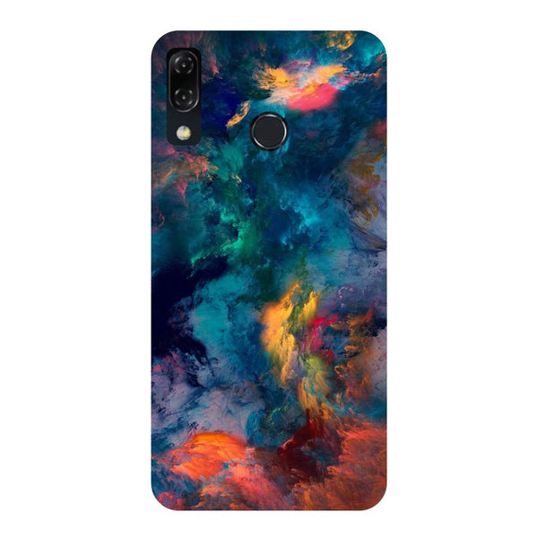 Abstract Fumes-Printed Hard Back Case Cover For Zenfone 5Z-Hamee India