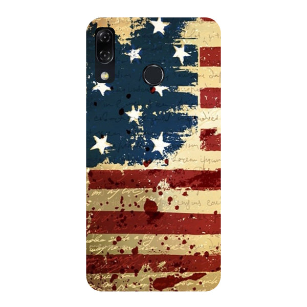 Flag-Printed Hard Back Case Cover For Zenfone 5Z-Hamee India