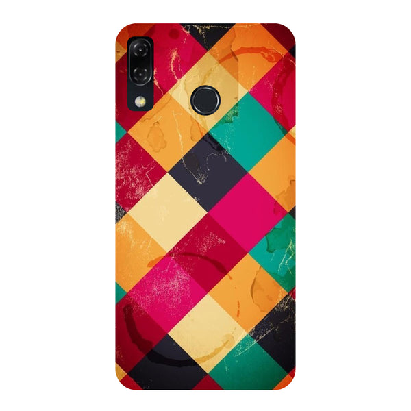 Weave-Printed Hard Back Case Cover For Zenfone 5Z-Hamee India