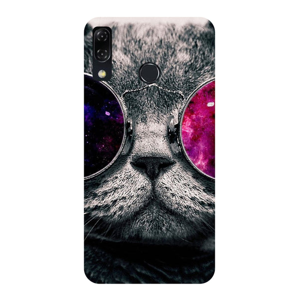 Cool Cat-Printed Hard Back Case Cover For Zenfone 5Z-Hamee India