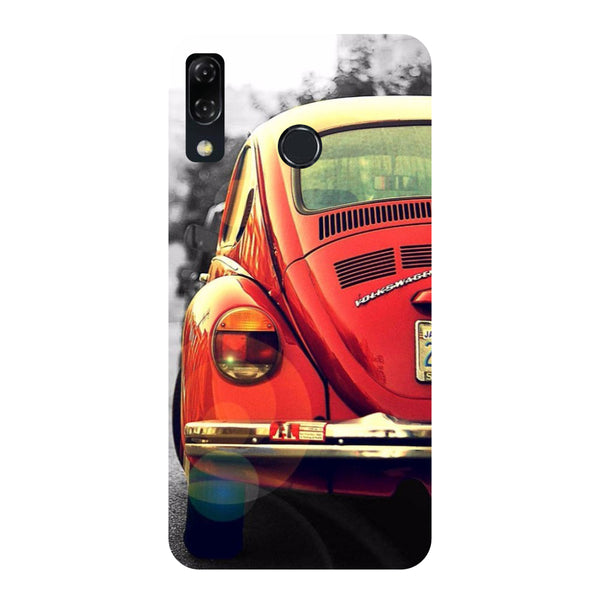 Vintage Car-Printed Hard Back Case Cover For Zenfone 5Z-Hamee India