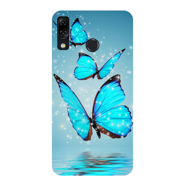 Butterflies-Printed Hard Back Case Cover For Zenfone 5Z-Hamee India