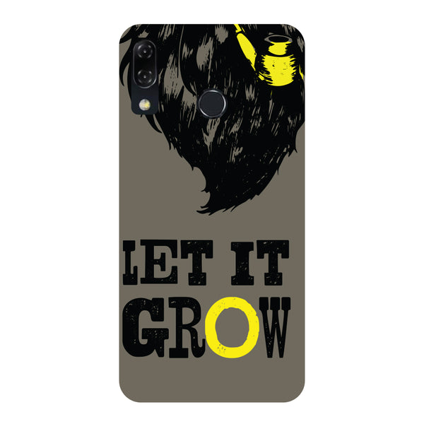 Let It Grow-Printed Hard Back Case Cover For Zenfone 5Z-Hamee India
