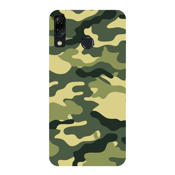 Camouflage-Printed Hard Back Case Cover For Zenfone 5Z-Hamee India