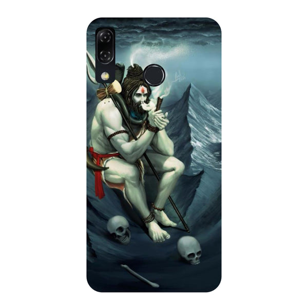 Shiva Abode-Printed Hard Back Case Cover For Zenfone 5Z-Hamee India