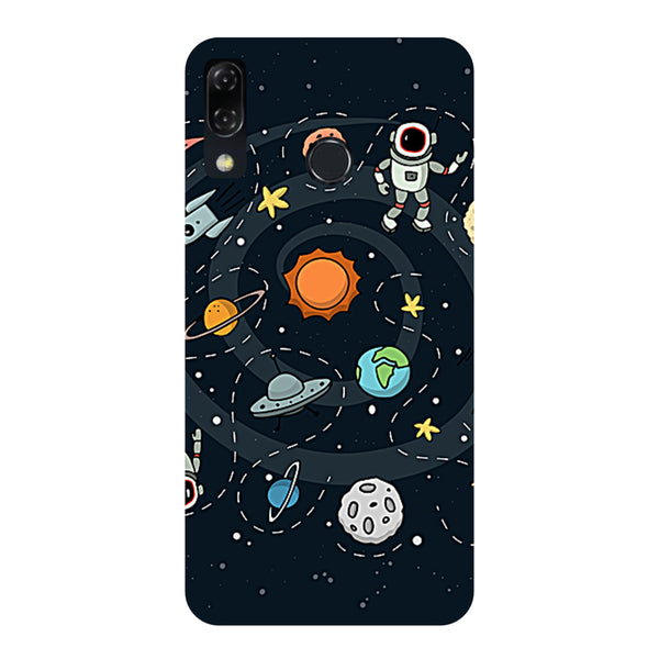 Space-Printed Hard Back Case Cover For Zenfone 5Z-Hamee India