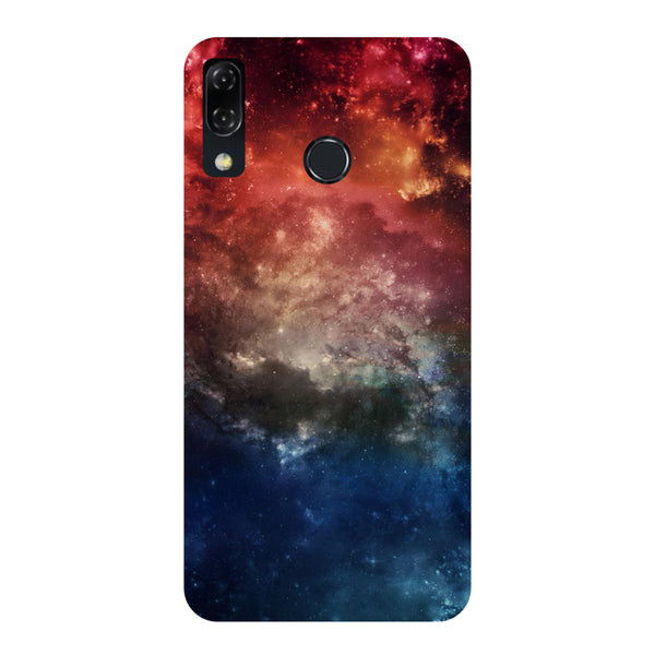 Outer Space-Printed Hard Back Case Cover For Zenfone 5Z-Hamee India