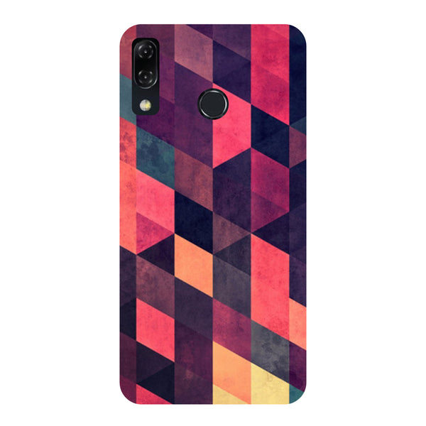 Pink Abstract-Printed Hard Back Case Cover For Zenfone 5Z-Hamee India