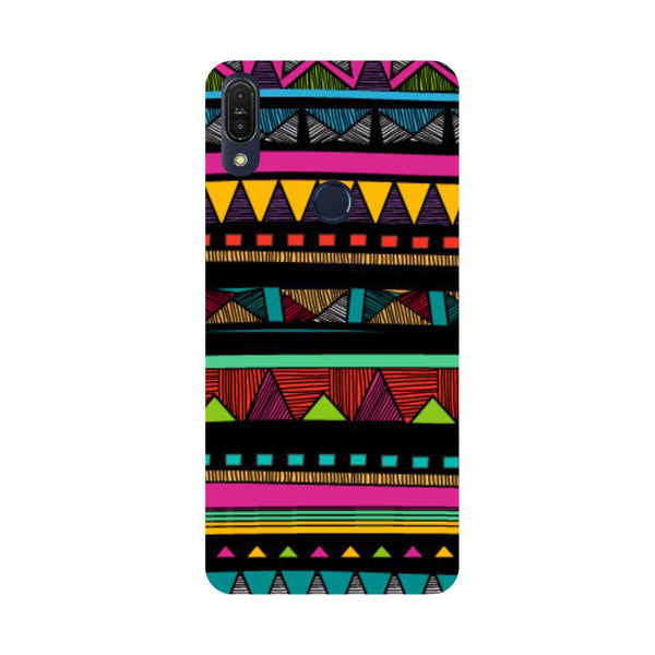 Tribal-Printed Hard Back Case Cover For Zenfone Max Pro M1