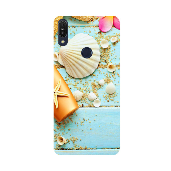 Shells-Printed Hard Back Case Cover For Zenfone Max Pro M1