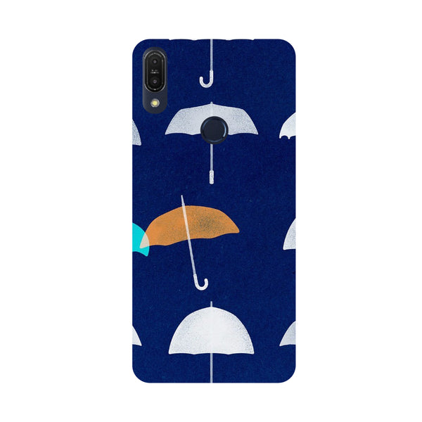 Umbrellas-Printed Hard Back Case Cover For Zenfone Max Pro M1