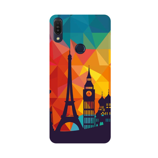 Wonders-Printed Hard Back Case Cover For Zenfone Max Pro M1