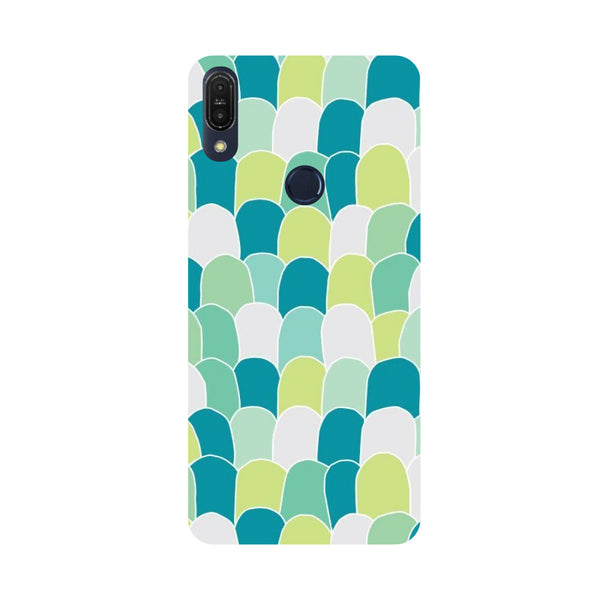 Scales-Printed Hard Back Case Cover For Zenfone Max Pro M1