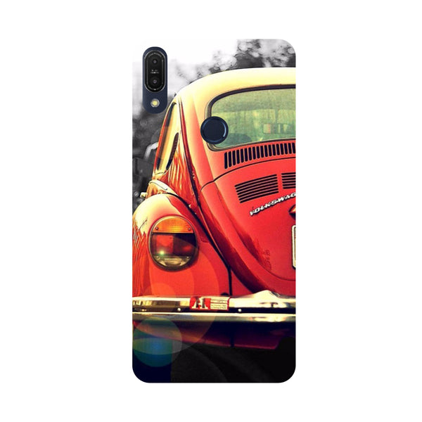 Vintage Car-Printed Hard Back Case Cover For Zenfone Max Pro M1