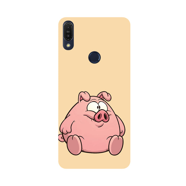 Piggy-Printed Hard Back Case Cover For Zenfone Max Pro M1
